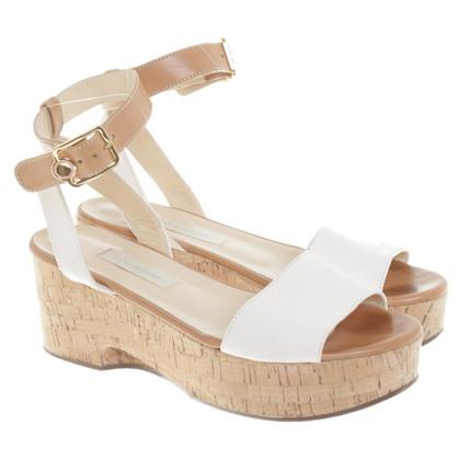 L'autre Chose Sandaletten mit Keilabsatz