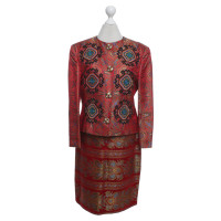 Christian Lacroix Costume with floral jacquard pattern