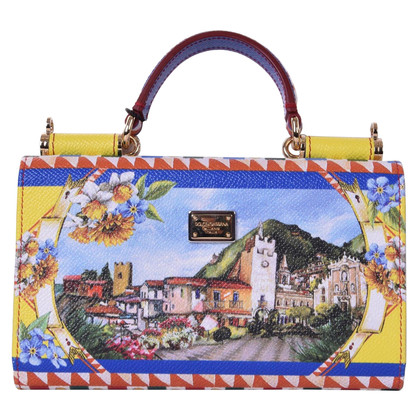 Dolce & Gabbana Bag SICILY Phone with print