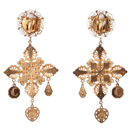 Dolce & Gabbana Clips earrings