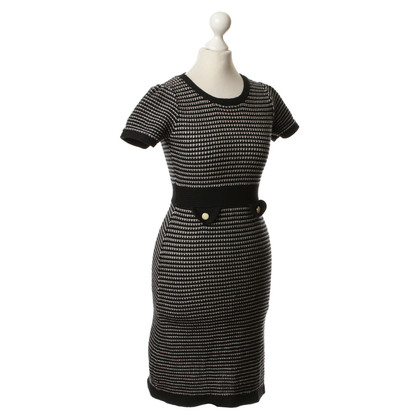 Tara Jarmon Knit dress in black/white