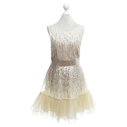 Red Valentino Cocktailkleid in Beige