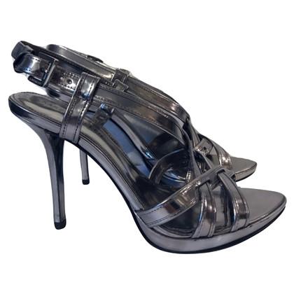 Karen Millen Karen Millen sandaal met zilveren hak