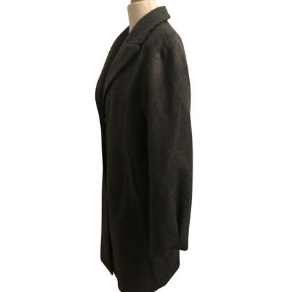 Schumacher Eggshape coat dark gray