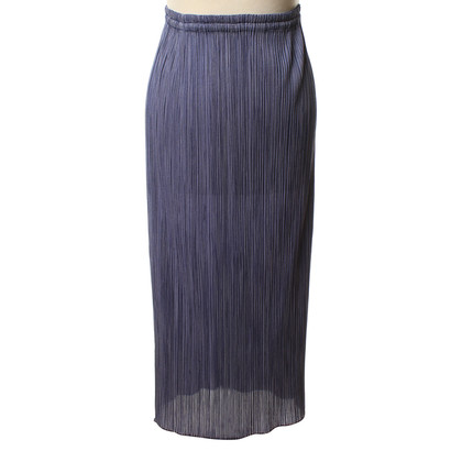 Issey Miyake Long skirt with pleats