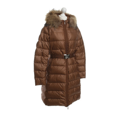 Moncler Down coat with real fur