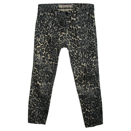 J Brand Snow Leopard Jeggings
