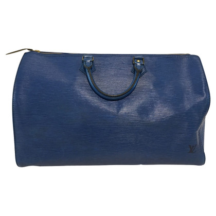 "Louis Vuitton ""Speedy 40 Epi Leder"" in Blau"
