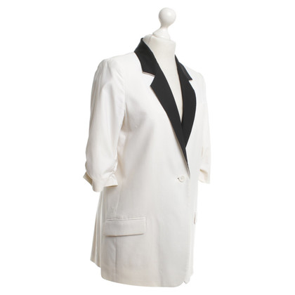 Elizabeth & James Blazer in black / white