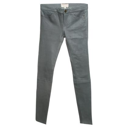 Current Elliott Lambskin leather trousers