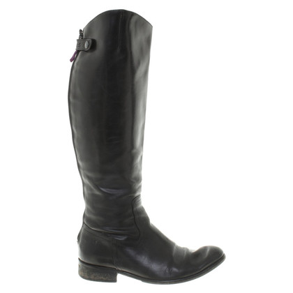Other Designer Floris van Bommel - leather boots in black