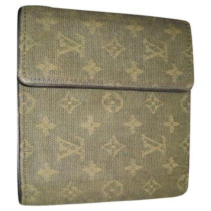 Louis Vuitton Wallet from Monogram Mini Lin Oliv