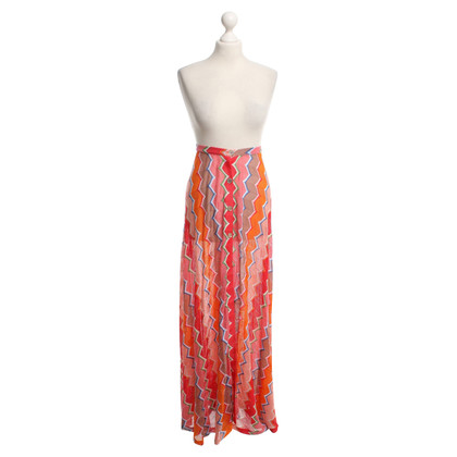 Missoni Langer skirt in Multi-Color