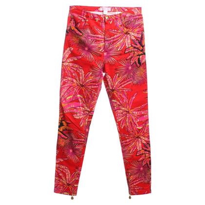 Versace for H&M Jeans mit floralem Print
