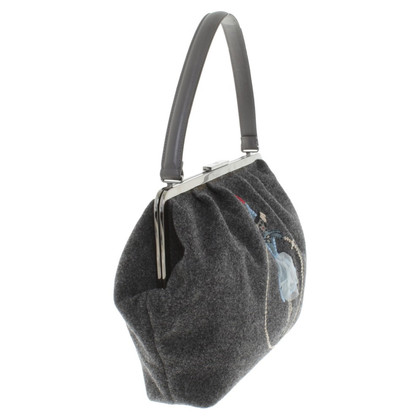 Red Valentino Handtasche in Grau
