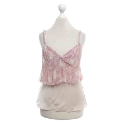 Rebecca Taylor Tank in nude / Pink