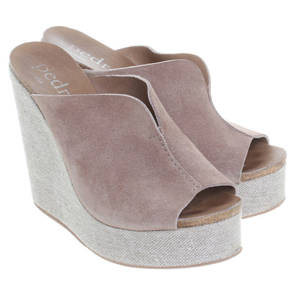 Pedro Garcia Wedges in Brown