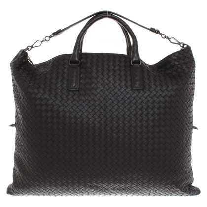 Bottega Veneta Braided shopper in brown