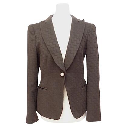 Giorgio Armani Cashmere blazer with woven pattern