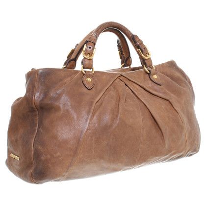 "Miu Miu ""Bow Bag"" Brown"