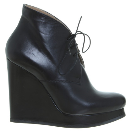 Jil Sander Wedges in Schwarz