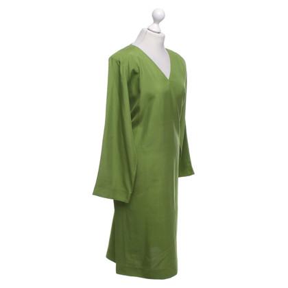 Yves Saint Laurent robe vert lime