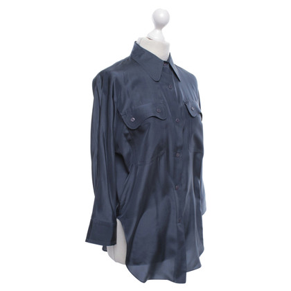 Carven Blouse in blue
