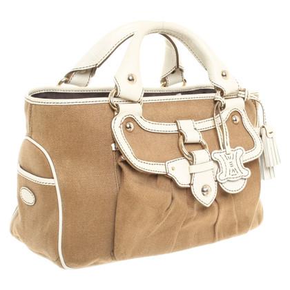 Céline Handtasche mit Leder-Details