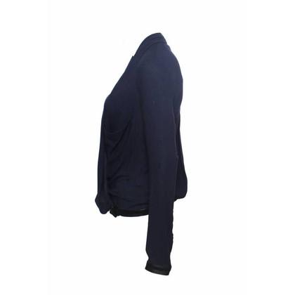 Helmut Lang donker blauw Top