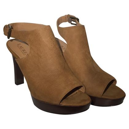 Ralph Lauren Peep-dita dei piedi