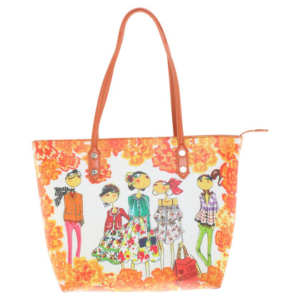 Moschino Love Shopper met patroonprint