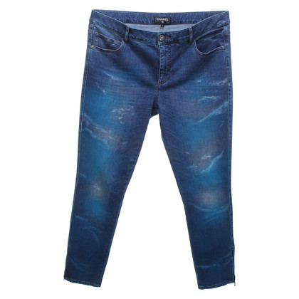 Chanel Jeans in blue / turquoise