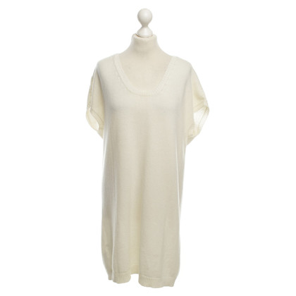 Agnona Cashmere Longtop in cream