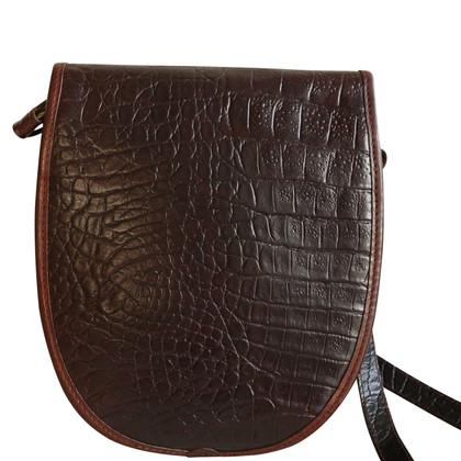 Mulberry Cross Body Bag Donkerbruin Congo Leren