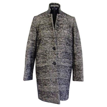 Set Coat with Glencheck pattern