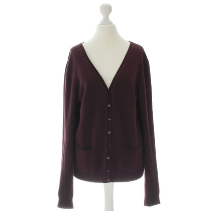 Max Mara Cardigan in Bordeaux