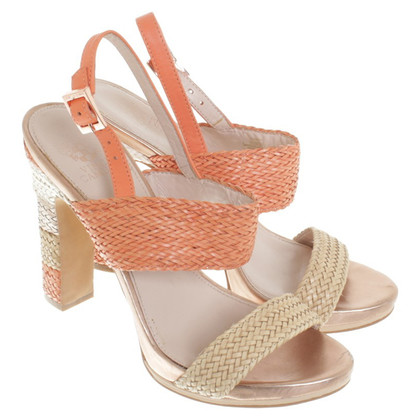 Vince Camuto Sandals in beige / orange