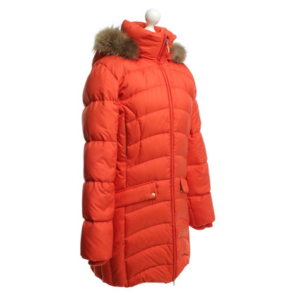 Escada Down jacket in Orange