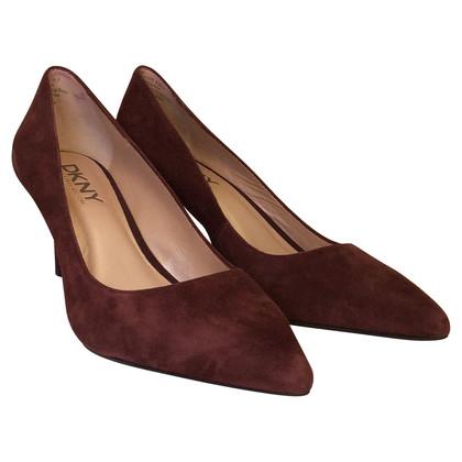 DKNY Suede heels