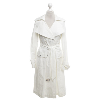 Laurèl Trench coat in white