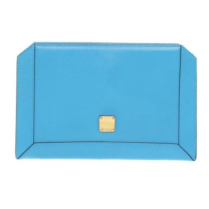 MCM Shoulder bag in turquoise