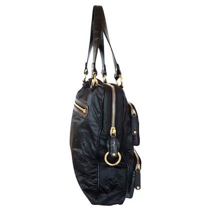 Tod's Handbag with alligator leather details