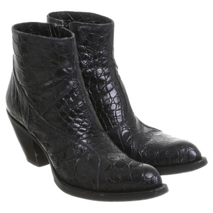 Gianni Barbato Ankle boots in black
