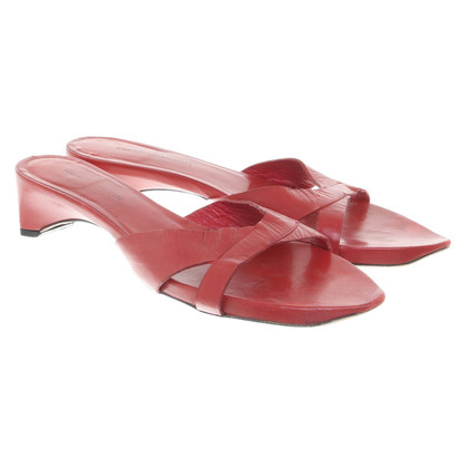 Costume National Mules in red