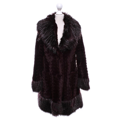 Anna Sui Coat made of fake fur