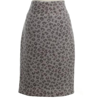 St. Emile skirt with animal print