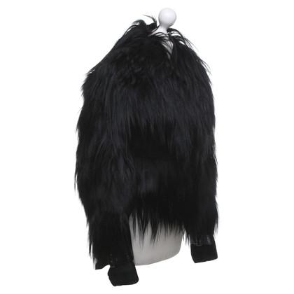 Burberry Fur jacket in black