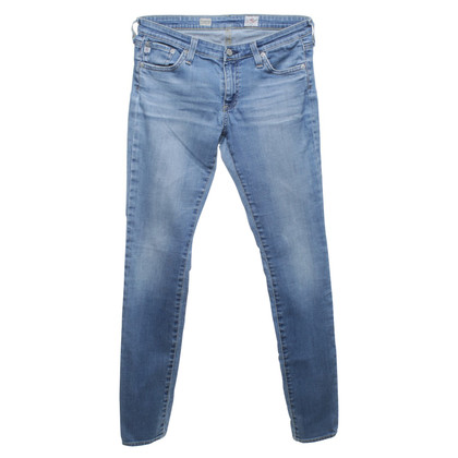 Adriano Goldschmied Skinny-Jeans im Used-Look