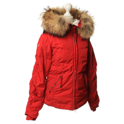 Jet Set Down jacket in red