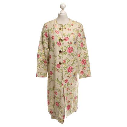 Marni Mantel mit floralem Muster